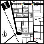 侍小僧地図案内図