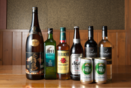各種アルコールを取り揃えおります。
